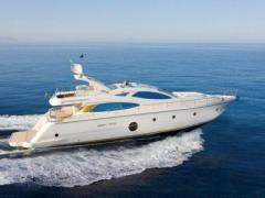 Aicon 64 Flybridge Yacht