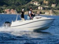 Quicksilver 455 Cabin + 50 PS Cuddy Cabin