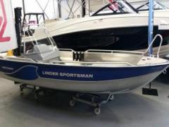 Linder 445 Sportsman Catch mit 20 PS / Alu-Boot Sportboot