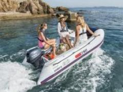 Yamaha Yam 310 S mit 10 PS Rubber Boat
