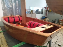 Optimist (Holz) Sailing dinghy