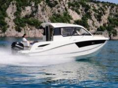 Quicksilver 755 Weekend, 300 CV.Livrable de suite Kabinenboot