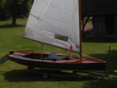Olympiajolle OE70 Sailing dinghy