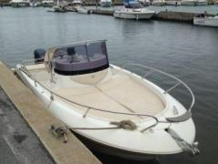 Sessa Key Largo 22 Deck Deck Boat