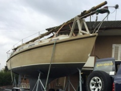 Meier Bootsentsorgung /Bootrecycling Pilothouse Boat