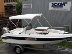 Marinello Happy Fishing open- HONDA BF 60-Trailer Sportboot