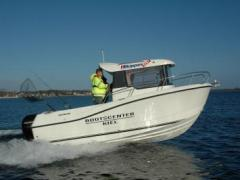 Quicksilver 605 Pilothouse + 115 PS Kabinenboot