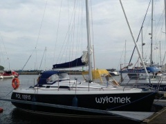 Skipper Pegaz 28 Depth 1,10m Mit Yanmar 24 Ps Kielboot