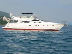 Ferretti 57 Fly Flybridge Yacht