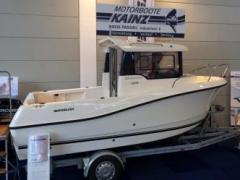 Quicksilver Captur 555 Pilothouse mit Mercury F 60 Pilotina