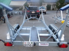 Harbeck BT 2000 Regattatrailer