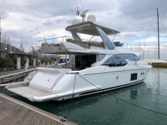 Azimut 66 (2016) CAT C18-1150 4x Kabinen! 1Hd. Flybridge Yacht