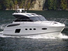 Princess V 48 mit IPS Antrieben Hard Top Yacht