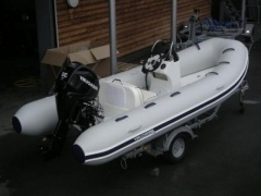 Mercury 420 Ocean Runner + 40 PS Motor Gommone a scafo rigido