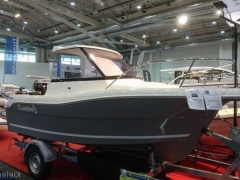 Bast Boat Cortina 480 Pilothouse Grau Kabinenboot