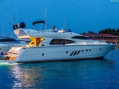 Dominator 64s- Flybridge Yacht