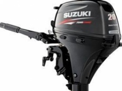 Suzuki DF20 AS Lean Burn Neumotor Außenbordmotor