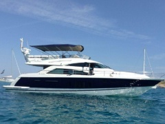 Fairline Squadron 58 (1/4 SHARE) Flybridge Yacht