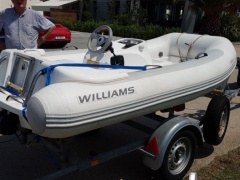 Williams Tender 285 TurboJet Festrumpfschlauchboot