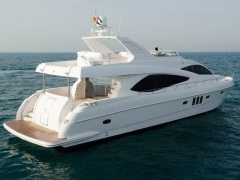 Majesty 77 Flybridge Yacht