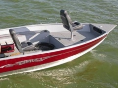 Lund Boats 1600 REBEL Tiller Fishing Boat