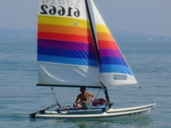 Hobie Cat Coast Catamaran Hobie Cat 14 Turbo Catamarano