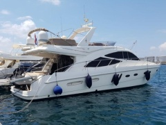 Sealine T60 (2006) 2xCAT Flybridge Yacht