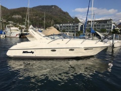 Windy 32 Scirocco Kabinenboot