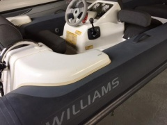 Williams Turbojet 385 Canot pneumatique à coque rigide