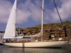Jacobscon Draksmark brod. Ketch Laurin O Yacht a Vela