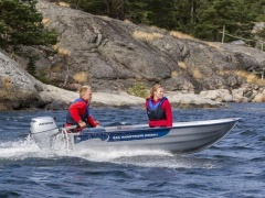 Linder 355 Sportsman Fishing Boat