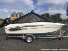 Remus 450 Open +15ps +trailer +extras Sportboot
