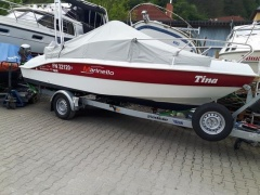 Marinello Fisherman 19 mit SUZUKI Df 100 , Trailer Deckboot