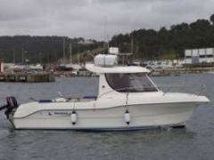 Quicksilver 640 Pilothouse barco cabinado