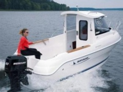 QUICKSILVER 500 PILOTHOUSE CAPTOUR Kabinenboot