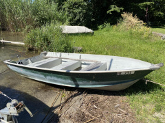 Quicksilver 450 SF Green Ruderboot