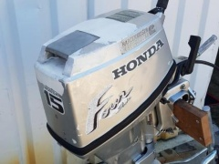 "Honda BF 15 ""auf Lager"" Outboard"