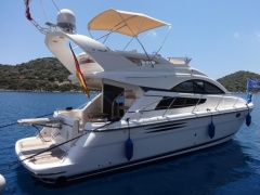 Fairline 40 Phantom (2005) TAMD 62 aus 1 Hand! Flybridge Yacht