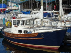 Fisher 25 Hecht Kielboot