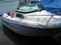 Quicksilver 450 Fischerboot