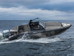 Silver SHARK BRX, 100 PS & Trailer Bowrider
