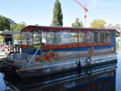 Tauscheck Swiss - Top Pontoon Boat