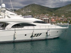 Dominator 680 S- 2004 Flybridge Yacht