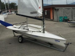 Laser EPS Sailing dinghy