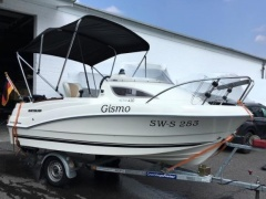 Quicksilver 430 Cabin + 50 PS Kabinenboot