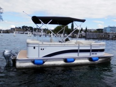 Harris FloteBote Cruiser 200 CS Bateau ponton