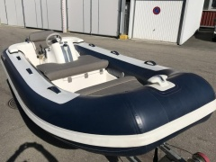 Williams Jet 385 Festrumpfschlauchboot