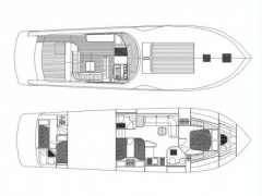 rizzardi 50 top line Cruiser Yacht