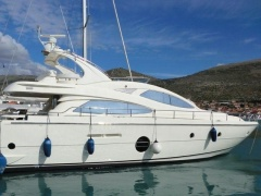 Aicon 64 Fly- Bj 2007- 4 Kabinen Flybridge Yacht
