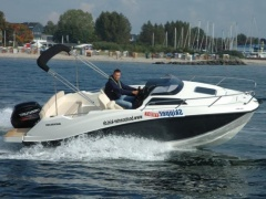 Quicksilver Activ 555 Cabin + 80 PS LAGERBOOT 2 Kabinenboot